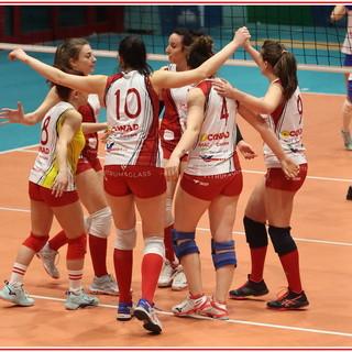 Volley, Serie C femminile: Carcare lascia solo un set ad Alba, le biancorosse chiudono il girone al terzo posto (FOTOGALLERY)