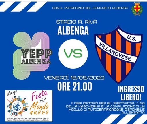 Calcio. Venerdì sera sarà sfida al Riva tra la Villanovese e lo Yepp Albenga